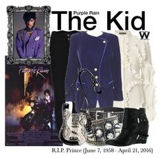 """""""Purple Rain"""" by wearwhatyouwatch ❤ liked on Polyvore featuring Alexander McQueen, ESCADA, Michael Kors, Child Of Wild, Naughty Monkey, Mary Frances Accessories, wearwhatyouwatch, film and RIPPrince"""