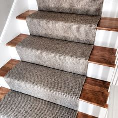 Check Out This Merida Studio Flat Woven #wool #stair #runner That We  Fabricated