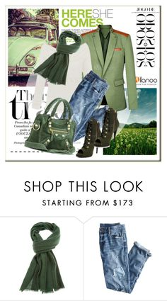 """""""Day for traveling"""" by janee-oss ❤ liked on Polyvore featuring Twenty, Andrea, Emanuel Ungaro, J.Crew, Balenciaga, milanoo, m26802 and m24600"""