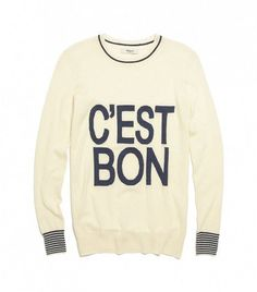 c'est bon sweater from madewell