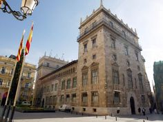 Palau de la Generalitat, en Valencia.