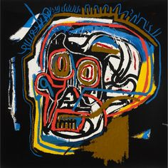 Jean-Michel  Basquiat untitled (head)