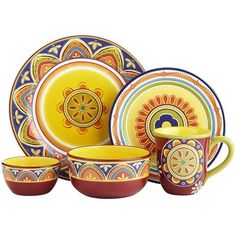 Mexicali Dinnerware. pier 1.