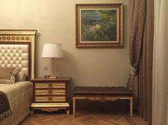В декоре этой #спальни #дизайнер @anndesignru использовала #ткани из коллекции #Exclusive #Galleria_Arben #дизайнинтерьера #спальня #bedroom
