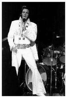 Elvis Presley At Madison Square Garden - June 1972