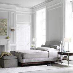 LIGHT & AIRY BEDROOMS - Design Bill Sofield. Photo via Baker.