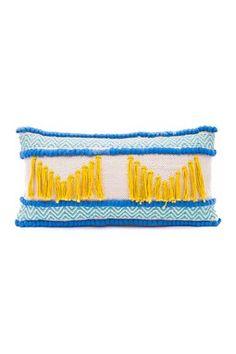 "Boho Island Breeze Pillow - Multi - 18"" x 18"""