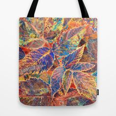 Placer. Tote Bag by Mary Berg - $22.00 #totebags #society6 #autumn #yellow #gold #colorful #fall #women #textile