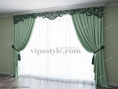 "Студия декора ""VIP's style"" (WWW.VIPSSTYLE.COM). Каталог 2015. Лазерная резка. Ажурный ламбрекен М001. (Laser cutting. Window decor)"