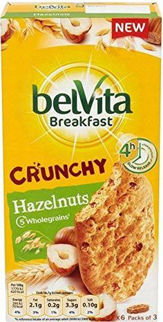 Belvita Breakfast Biscuits Crunchy Hazelnuts (6x50g) - http://sleepychef.com/belvita-breakfast-biscuits-crunchy-hazelnuts-6x50g/