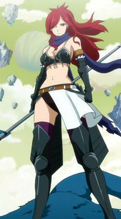 Erza Knightwalker - So Funny Epic Fails Pictures Fairy Tail Jerza, Fairy Tail Erza Scarlet, Fairy Tail Girls, Fairy Tail Anime, Erza Scarlet Armor, Filles Fairy Tail, Jellal And Erza, Fairytail, Erza Scarlett