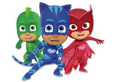 Imagini pentru heroes en pijama