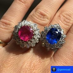 Ruby or Sapphire? #Gemroad #ruby #sapphire