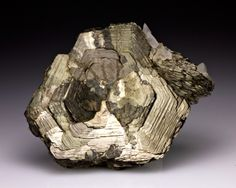 Pyrrhotite with Calcite from Russia