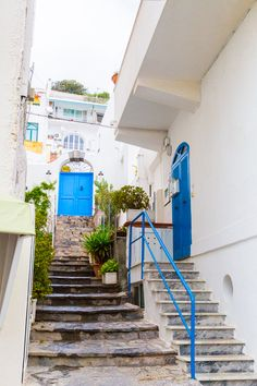 Ischia, La Isola Verde {Part. San Angelo, Layout, Love Photography, Stairs, Staircases, Places, Traveling, Wanderlust, Houses