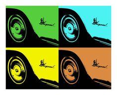 Pop Art Classic Cars Fine Art Photograph on Etsy, $15.00