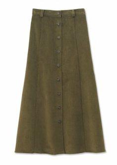 Orvis Women's Plush Stretch-corduroy Skirt http://www.branddot.com/13/Orvis-Womens-Plush-Stretch-corduroy-Skirt/dp/B005MZIF1E/ref=sr_1_86/192-0136233-6406242?s=apparel