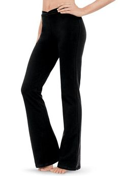 Cotton V-Waist Jazz Pants | Balera™