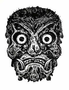 Linocut by Bill Fick