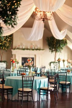 wedding reception set up @cleverwedding