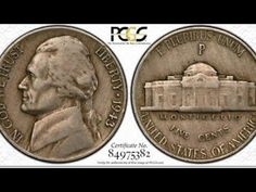 A Simple Mint Mistake Made This Jefferson Nickel Worth Thousands - Silver Transitional Error! Old Coins Worth Money, Old Money, Old Coins Value, Saving Coins, Rare Pennies, Valuable Coins, Coin Worth, Error Coins, Coin Values