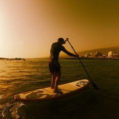 Evening paddle boarding | Tumblr #Paddleboardshop #paddleboard #paddleboarding