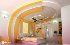 Give your living room a stunning new avtar with this gorgeous and graceful Gyproc India #falseceiling design! Visit www.gyproc.in