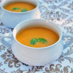 Creamy Tomato and Carrot Soup | My Whole Food Life
