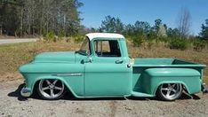 Tri-Five Chevy Truck, #chevy #truck 1956 Chevy Truck, Chevy Pickup Trucks, Gm Trucks, Chevy Pickups, Chevrolet Trucks, Cool Trucks, Chevy C10, Chevrolet 3100, Cadillac Eldorado