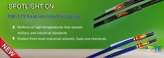 SHC GmbH - RW-175, a highly flame-resistant heat-shrinkable tubing