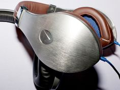 Our 10 Favorite Things From the 2014 Luxury Tech Show | The vTrue Studio Headphones made from forged aluminum are @Velodyne Acoustics's leading model.  Jeff Enlow/WIRED  | WIRED.com