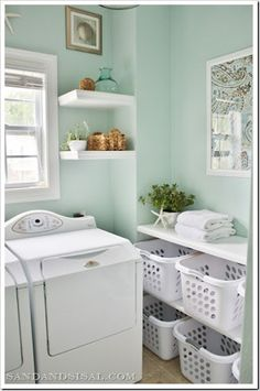 best color for a laundry room - Google Search