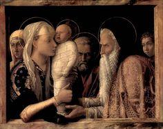Andrea Mantegna · Presentazione al tempio · 1455 ca · Gemäldegalerie · Berlin I Vedi particolare