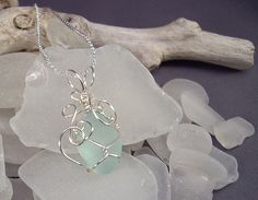 How to Easily Wire Wrap Beach Glass