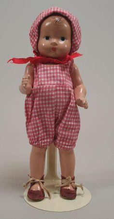 Vintage Effanbee Baby Tinyette Circa 1930s
