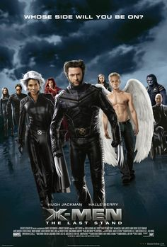 X-Men: The Last Stand (2006) PG-13 - Stars: Patrick Stewart, Hugh Jackman, Halle Berry. - When a cure is found to treat mutations, lines are drawn amongst the X-Men, led by Professor Charles Xavier, and the Brotherhood, a band of powerful mutants organized under Xavier's former ally, Magneto. - ACTION / ADVENTURE / SCI-FI