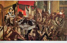 The Marriage at Cana: A Servant in the Kitchen Announcing the Miracle, 1952-3. Stanley Spencer, The Apotheosis of Love, Barbican catalogue.