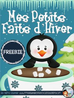 Mme Gauthier's French Class: *FREEBIE UPDATE* French Winter Writing Activity Set | To use after Christmas! New Years Activities, Winter Activities, Christmas Activities, Kindergarten Writing, Kindergarten Activities, Writing Activities, Literacy, Educational Activities, Teaching French Immersion