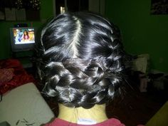 Katniss Everdeen's braided hairstyle from the Hunger Games :)