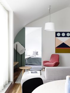 colour detail, artwork :: via Neometro & MA Architects 3