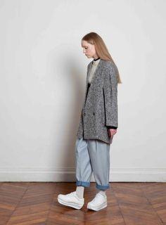 Style Pantalon revers