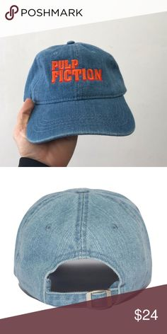 9a4ed75a86d Pulp fiction dad hat . Embroidered DENIM Brand new item sixpanelstudio.com  Accessories Hats