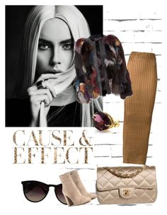 """Untitled #216"" by fa5hionm0nst3r on Polyvore featuring Envi, Iris van Herpen, Chanel, Ray-Ban and Gianvito Rossi"