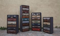 Love and want these suitcase chests.