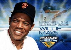 """Willie Mays - """"the say hey kid"""" CF Giants & Mets best five-tool player in the game. Home Runs 12 Golden Gloves; NL All-star team 24 times. Famous Baseball Players, Best Baseball Player, Baseball Batter, Giants Baseball, Sports Baseball, Baseball Photos, Baseball Stuff, Baseball Cards, Willie Mays"""