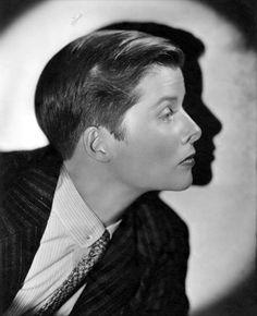 Katherine Hepburn, in Sylvia Scarlett, 1935, dir. George Cukor