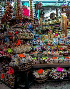 Mercado principal de Mérida, Venezuela