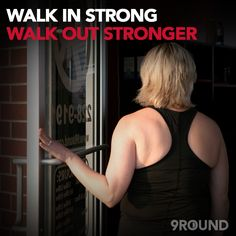 After you take the first step toward a healthier you, you'll walk out stronger every time! FREE introductory workout: https://www.9round.com/start