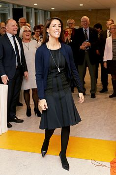 kronprinsenfrederik:  Princess Marie inaugurated a new building at the Hospital of Southern Jutland, January 12, 2015