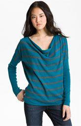 Caslon® Drape Neck Sweater